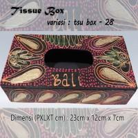 Kotak Tisu Tissue Box Ethnic 28 Bali Bisa Buat Hiasan Meja