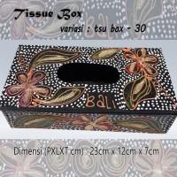 Kotak Tisu Tissue Box Ethnic 30 Bali Bisa Buat Hiasan Meja