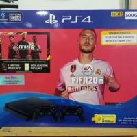 ps4 slim 500gb bundlle game fifa 2020