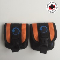 Merora Quick release weight pocket - orange navy