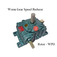 Gear Box Speed Reducer Rotor WPO 80 Ratio 10, 15, 20, 30, 40, 50, 60