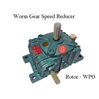 Gear Box Speed Reducer Rotor WPO 100 Ratio 10, 15, 20, 30, 40, 50, 60