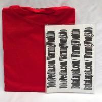 MANSET RED DC JUMBO SPANDEKS RAYON SUPER INNER BAJU MUSLIMAH XXXL