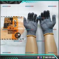 Sarung Tangan Kerja Kain Benang 6 Abu Bulldozer Best Quality