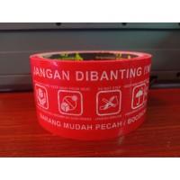 LAKBAN FRAGILE / LAKBAN JANGAN DI BANTING 2INCH 48MM