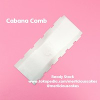 Cabana Cake Comb Buttercream Scrapper Sweet Escape Cake Kue