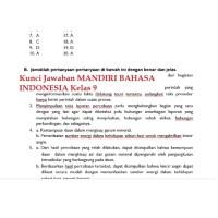 Kunci Jawaban Buku Erlangga Mandiri Bahasa Indonesia Kelas 11 Guru Galeri