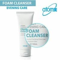 Evening care foam cleanser