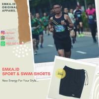 Best seller celana lari pendek EmkaID (3pcs)