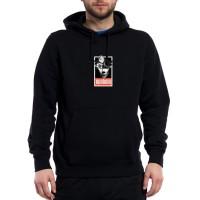 Upstain Wear Hoodie Head Flower Black Premium Original Brand