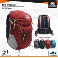 TAS GUNUNG SEMI CARRIER ORIGINAL CO TREK BERAU 40 LITER