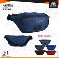 TAS SELEMPANG PINGGANG TRAVEL POUCH WAIST BAG ORIGINAL CO TREK NAUTICA
