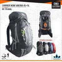TAS GUNUNG CARRIER CO TREK NEW SIBERIA 45+5L NO EIGER REI DEUTER