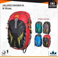 TAS GUNUNG SEMI CARRIER ORIGINAL CO TREK PANDERMAN 40 LITER