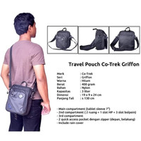 TAS SELEMPANG TRAVEL POUCH ORIGINAL CO TREK GRIFFON