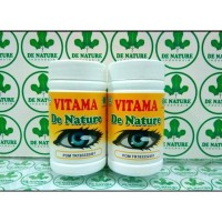 Vitama De Nature - Obat Mata Minus/Katarak - Vitamin Mata Herbal