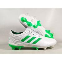 Sepatu Bola Copa 19.1 White / SOlar Lime FG Replika Impor