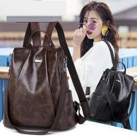 Tas Ransel Batam - Tas Ransel Wanita / Backpack Cewek Impor Asli D0140