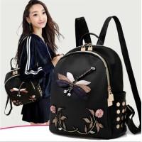 Tas Wanita - Tas Ransel Wanita Impor Fashion Korea Ori C1110