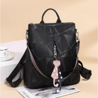 Tas Ransel Batam - Ransel Wanita Impor Korea Ori fashion Asli CV0512