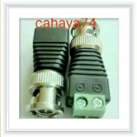 CAT5 CCTV COAXIAL CAMERA BNC MALE BALUN CBN 0110