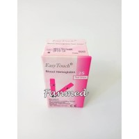 PROMO Refill Isi Ulang Strip Stik Hemoglobin HB Anemia Easy Touch