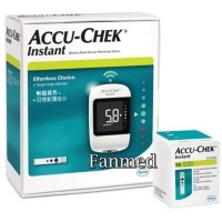 Alat Cek Up Tes Gula Darah Glucose Accu Check Instant 50 Strip