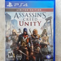 PS4 GAME ASSASSINS CREED UNITY ALL REG (Second)