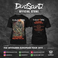 Tshirt Deadsquad The Devourer European Tour 2019 vol.2