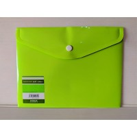 King Jim Envelope Holder A5 Soft Pea Green 734SCGA-E