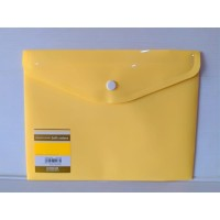 King Jim Envelope Holder A5 Soft Yellow 734SCGA-E
