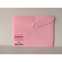 King Jim Envelope Holder A5 Soft Pink 734SCGA-E