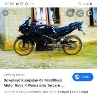 Jual Cover Body Set Ninja Rr Polos Hitam Jakarta Timur Anto Partkawasaki Tokopedia
