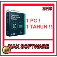 Jual Antivirus Kaspersky Small Office Security 1 Device 1 Server Kota Surabaya Silvia Shhop Tokopedia