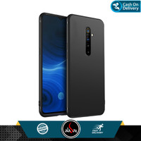 Case Realme X2 Pro Ultra Slim Soft Case Black Matte