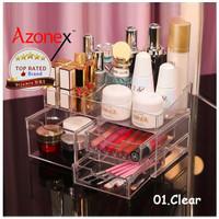 Beauty Case Tempat Penyimpanan Make Up Organizer Kosmetik Telus BCLIC - Clear thumbnail