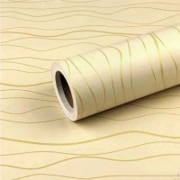 Wallpaper Sticker Dinding Grosir Murah Cream Salur