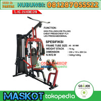 Total Fitness Chest Fly Alat Fitnes Angkat Beban Home Gym HG TL-014