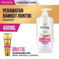 Pantene Shampoo Hair Fall Control 400ml FREE Conditioner 3MM 180ml