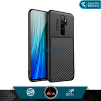 Case Xiaomi Redmi Note 8 Pro Ultra Slim Soft Case Carbon