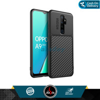 Case Oppo A9 2020 Ultra Slim Soft Case Carbon