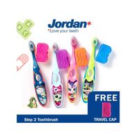 Jordan Sikat Gigi Anak STEP 2 Umur 3-5 tahun