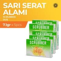 Scrubber Jeruk - 5 Dus (1 Dus isi 6 Sachet)