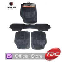 Brio Karpet Mobil DURABLE 3pcs PVC Universal - Grey