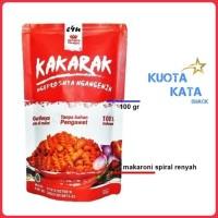 READY Makanan Ringan Makaroni Pedas - Makaroni Premium Kakarak Pedas