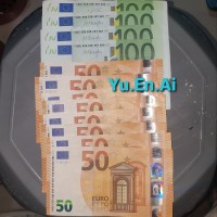 EUR € mata uang Eropa Europe per 100 euro
