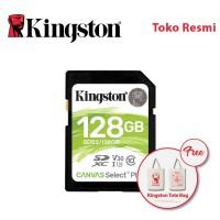Kingston SD Card Canvas Select Plus Class 10 SDXC 128GB