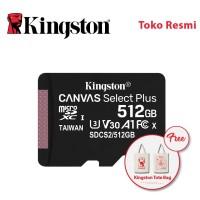 Kingston MicroSD Card Canvas Select Plus Class 10 MicroSDXC 512GB