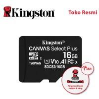 Kingston MicroSD Card Canvas Select Plus Class 10 MicroSDHC 16GB