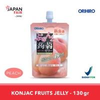 Minuman Jeli Orihiro Konyaku Jelly Pouch Peach Persik